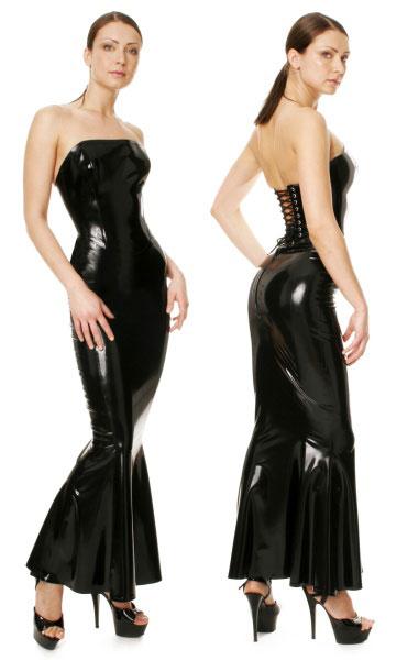 Latexová sukně - bs03006