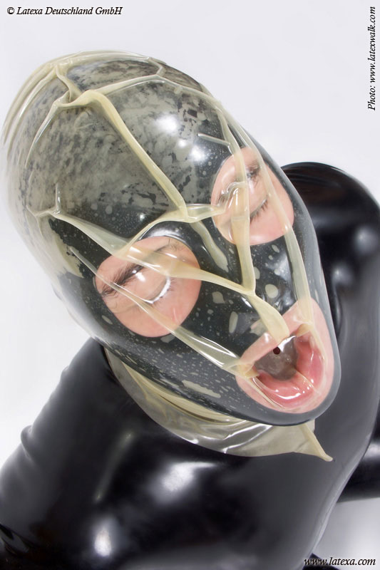"""Latexová maska """"Vakuum"""" - la1229"""