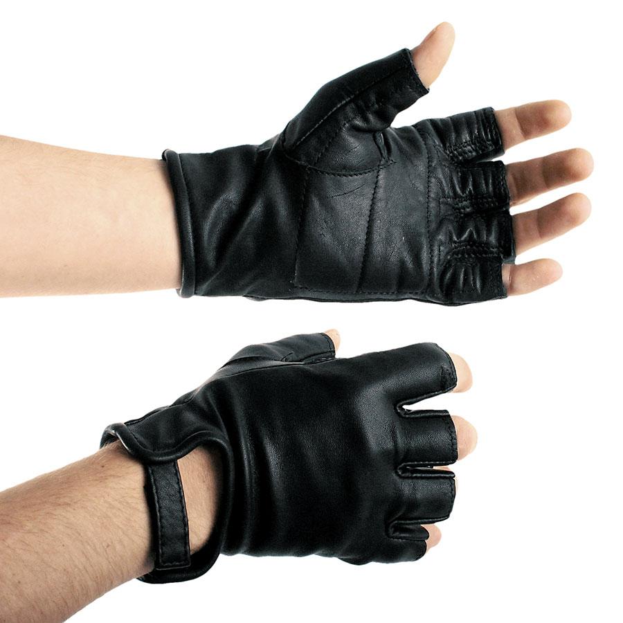 3a01d175dcb Kožené rukavice krátké - le0967