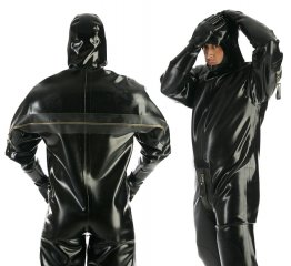Heavy Rubber catsuit - bs26014