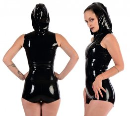 Latexový top s kapucí - Blackstyle - bs05038