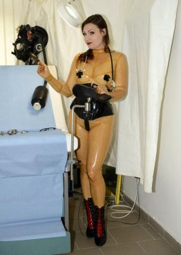Latexový catsuit - bs07012
