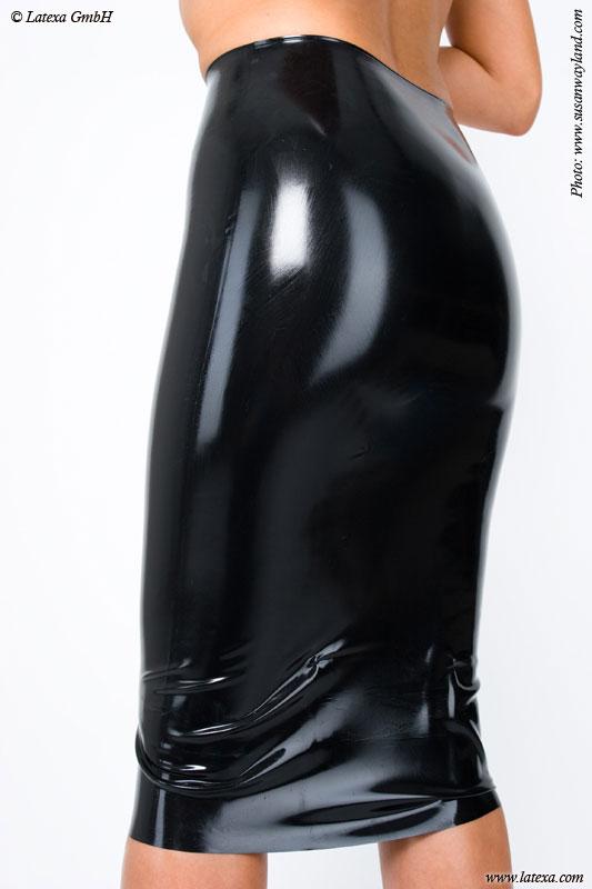 Latexová sukně - la1185