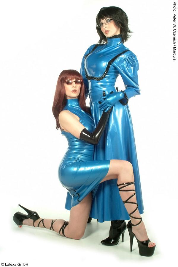 Latexová sukně - la3074