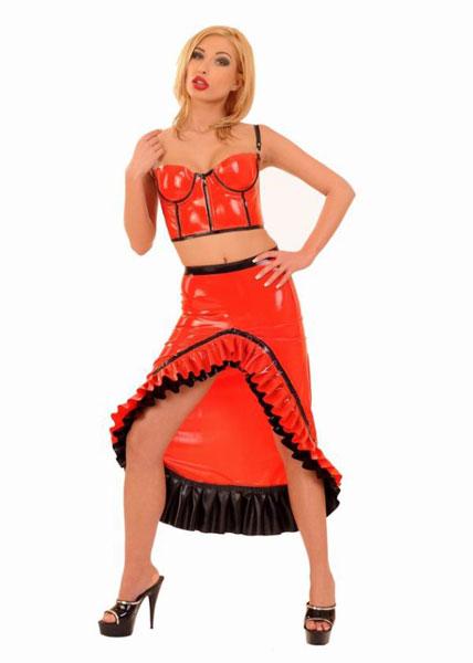 Latexová sukně - ab4273
