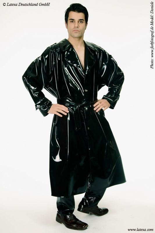 Latexový kabát - la3012h (pánský)