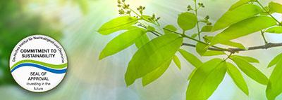 Certifikát udržitelnosti