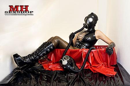 Plynová maska - to nejlepší pro Breathplay a Heavy Rubber