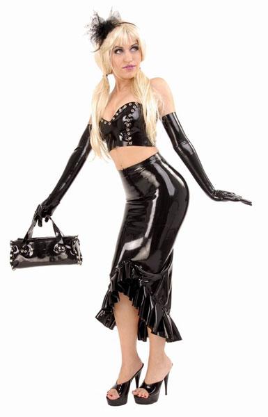 Latexová sukně - ab4127